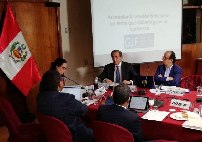Congreso, MEF y SUNAT discuten propuestas de justicia fiscal