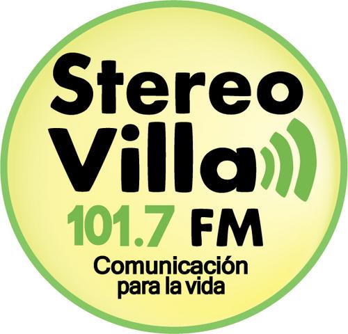 Entrevista en radio Stereo Villa