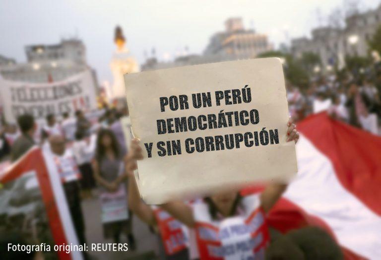 Por un Perú democrático y sin corrupción