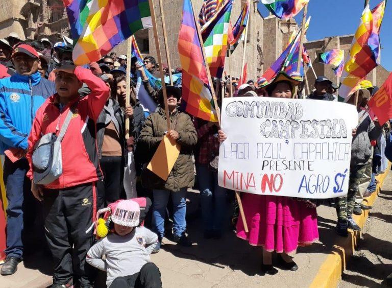 Gobierno anuncia cambios en Ley de Minería en medio de cinco conflictos sociales