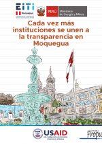 Carrusel: Instituciones que fueron objetos de estudio de los ETR Moquegua