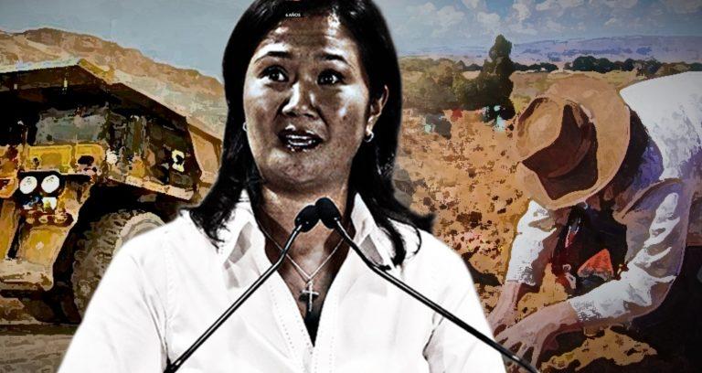"""¿La propuesta de Keiko Fujimori para la agricultura es una nueva versión del """"óbolo minero"""" del gobierno aprista?"""