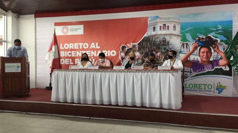 Comisión Multisectorial EITI Loreto socializa con la alta dirección del GORE, los resultados del I Estudio de Transparencia Regional sobre la distribución y uso del canon y sobrecanon petrolero